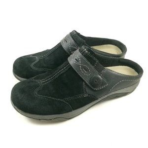 Earth Spirit Clogs Black Comfort Womens Shoes